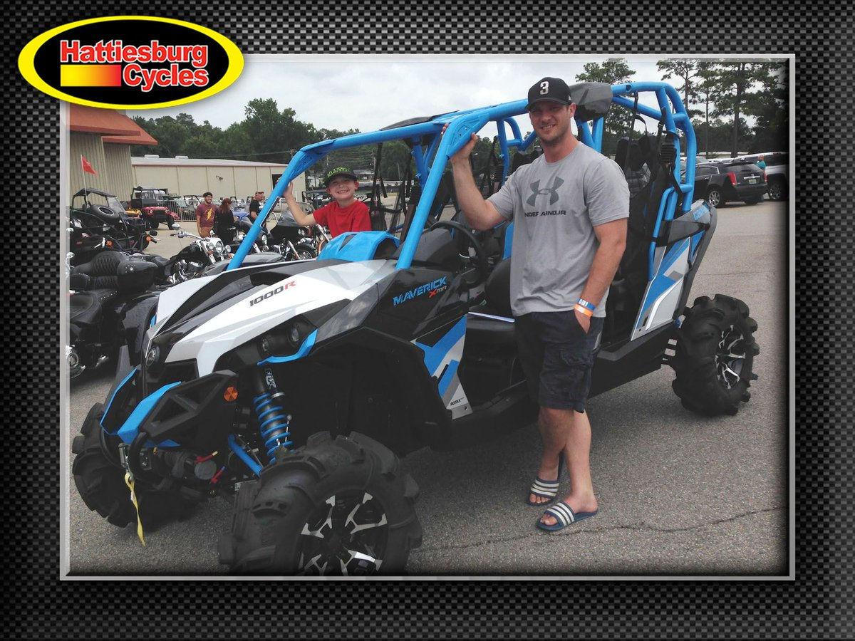 Thank you Budd Harvison from Lucedale MS for getting a 2017 Can-Am Maverick 1000R Max #canam <br>http://pic.twitter.com/foQSdKiPW8