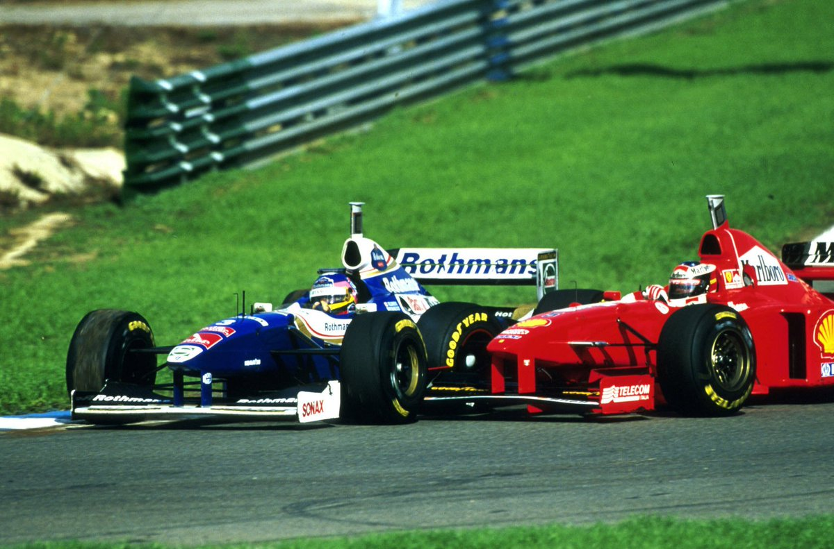 #picoftheday It&#39;s not the first time we saw an intentional touch from a Ferrari driver. The war is coming <br>http://pic.twitter.com/ARaruJJHRB