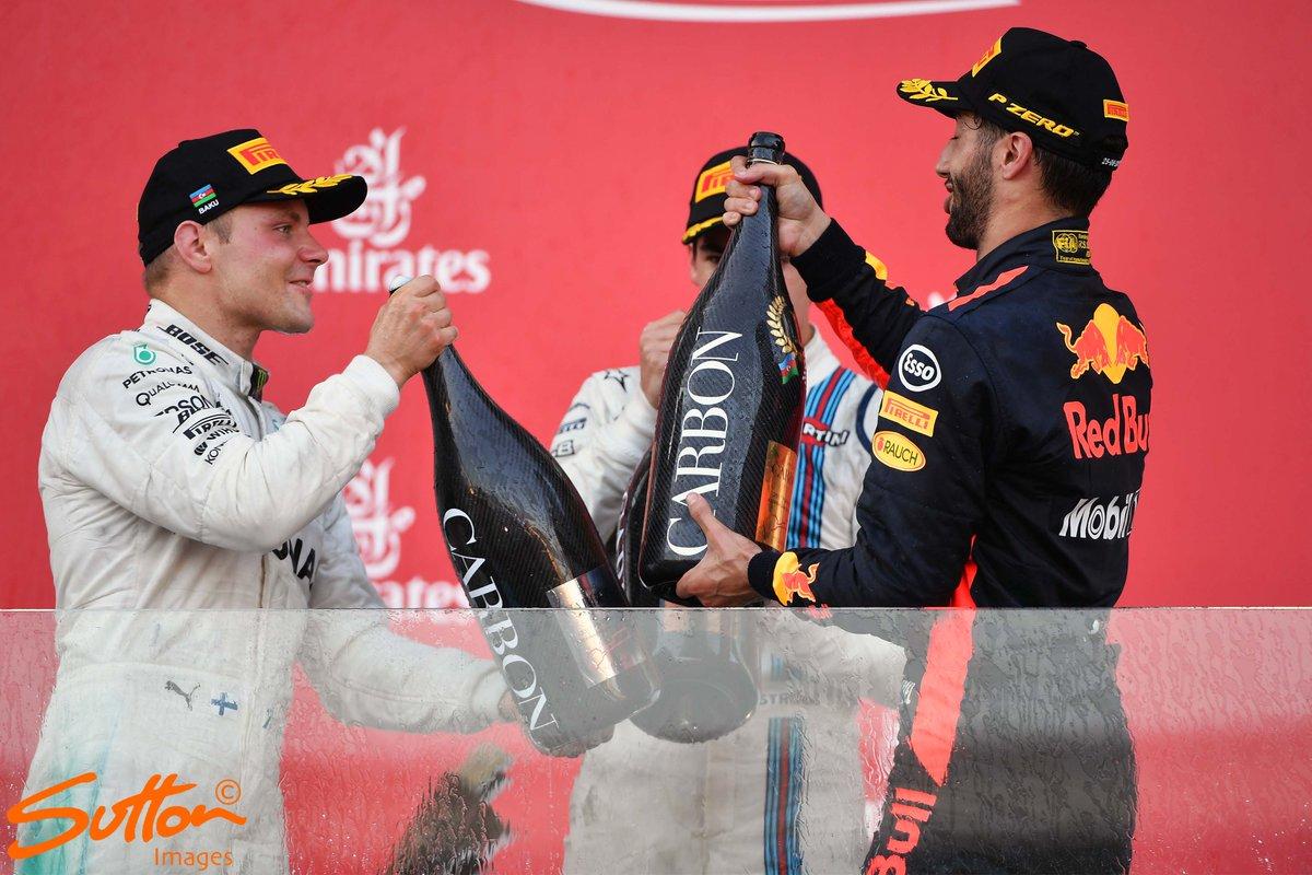 Las nuevas botellas de Champagne de la Fórmula 1 costarán 3.000 dólares