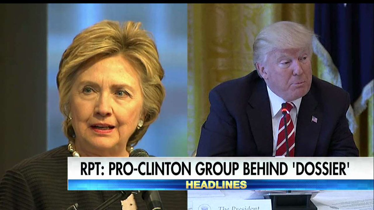 Report: Pro-@HillaryClinton Group Behind Russian Dossier on @POTUS https://t.co/oUj7OC8AG7