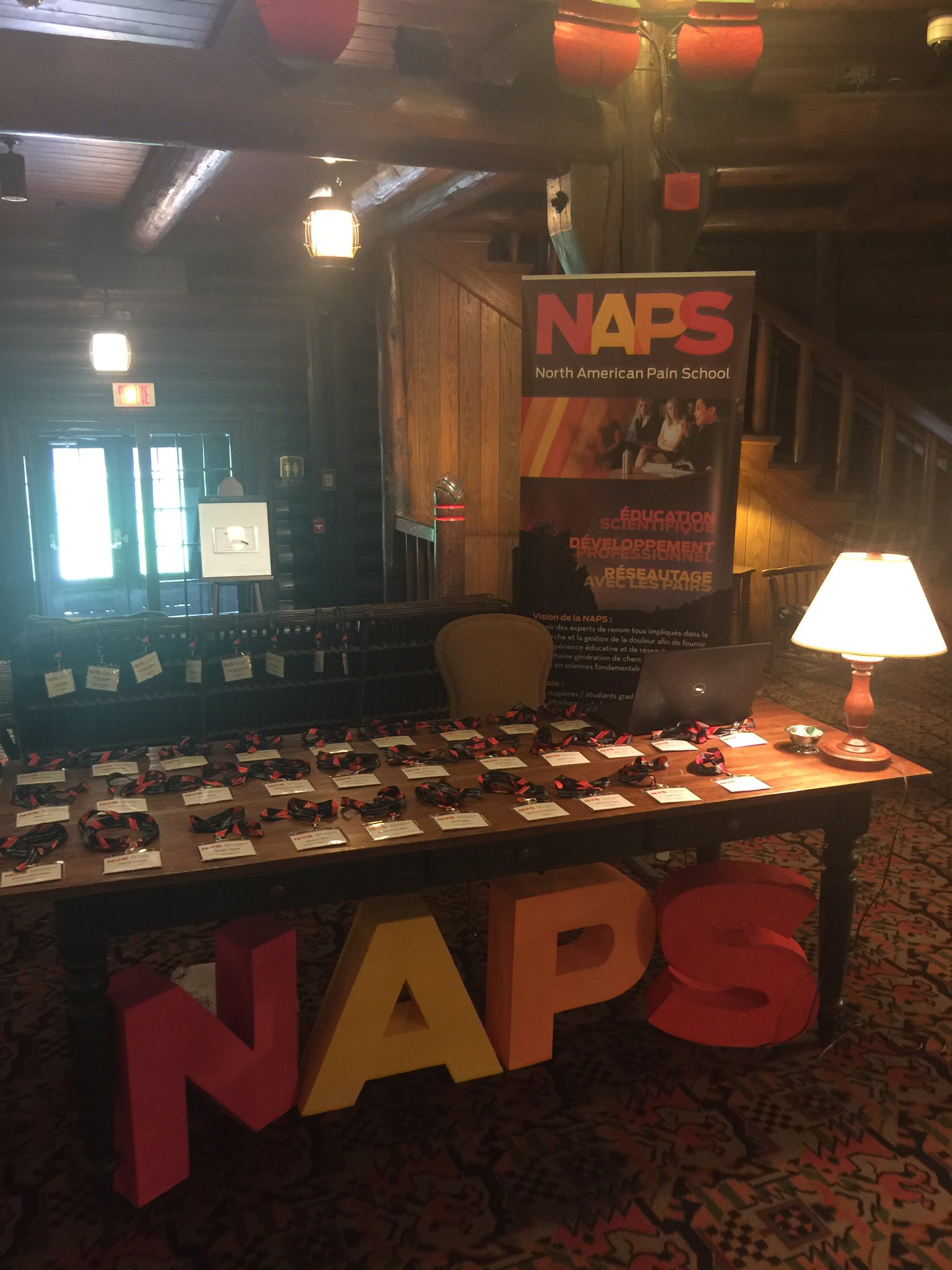The #NAPainSchool registration desk is open for business! Looking forward to welcoming our trainees and visiting faculty. https://t.co/FKPOjqPR6w