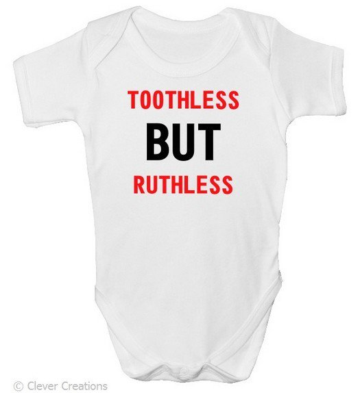 Cool gift for #baby Toothless - But Ruthless baby-grow on our website  http://www. clevercreations.co.uk/product_detail .php?id=196 &nbsp; … <br>http://pic.twitter.com/cUTo0wu0Yb