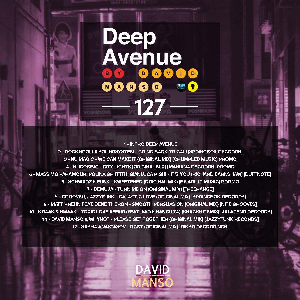 New Deep Avenue, release 127 #deephouse #nudisco #disco premiered on @BoogieBunkerBBR<br>http://pic.twitter.com/Oj2l1cVWlV