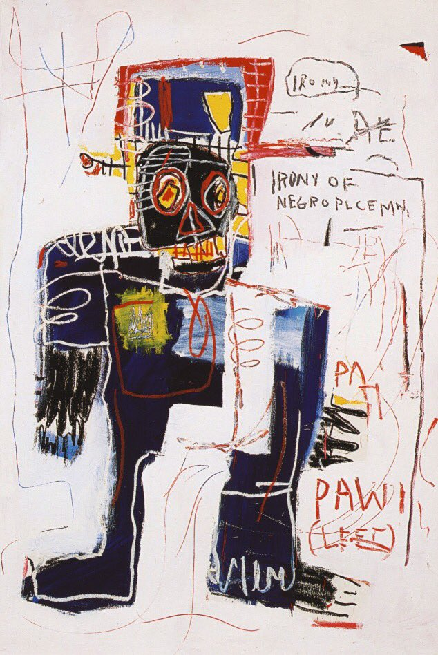 Jean-Michel #Basquiat,Irony of the negro policeman,1981 <br>http://pic.twitter.com/xVIDzqYFsy