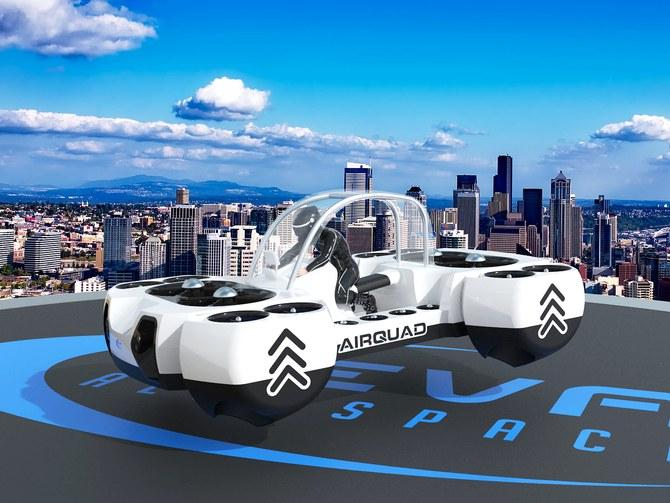Ces On Twitter This New Flying Car Concept Featured At The Paris