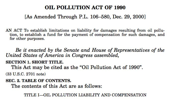 24/ But then, the dynamics around contingent valuation changed quickly. To Exxon Valdez spill succeeded 1990 Oil Pollution Act.... https://t.co/v0dlaL3nbA