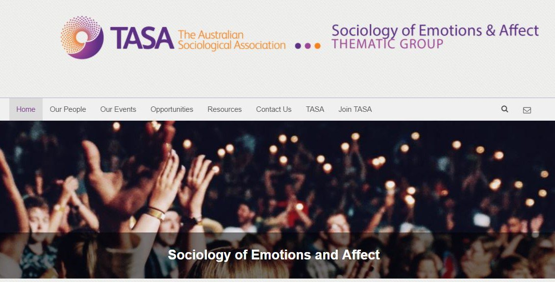 Are you an #emotions scholar looking for #conference &amp; #publication opportunities? Visit our website (updated today)  https:// emotionsandaffect.tasa.org.au  &nbsp;  <br>http://pic.twitter.com/sgnwwKyqbt