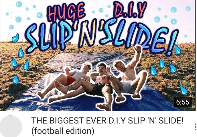 NEW VIDGo check it out! You WILL NOT want to miss it!! HUGE DIY SLIP N SLIDE!  https:// youtu.be/06etn9X8Bb4  &nbsp;   #smallyoutuber #youtuber #youtube <br>http://pic.twitter.com/utsY25uC0y