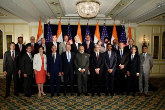 Interacted with top CEOs. We held extensive discussions on opportunities in India: PM Modi tweets #ModiTrumpMeet