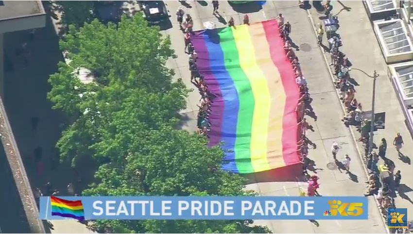 #SeattlePride Parade continues! WATCH LIVE on the #KING5 YouTube Channel >> https://t.co/lTsGVLcyyS