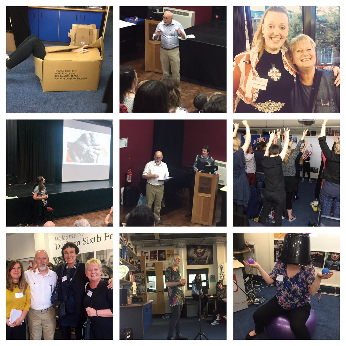 #artcubed @Jobaker9 a cube of images from a fantastic #nsead17 #conference. Hosted by @DSFCOfficial and @NSEAD1 #Magic<br>http://pic.twitter.com/az1a61lyzp