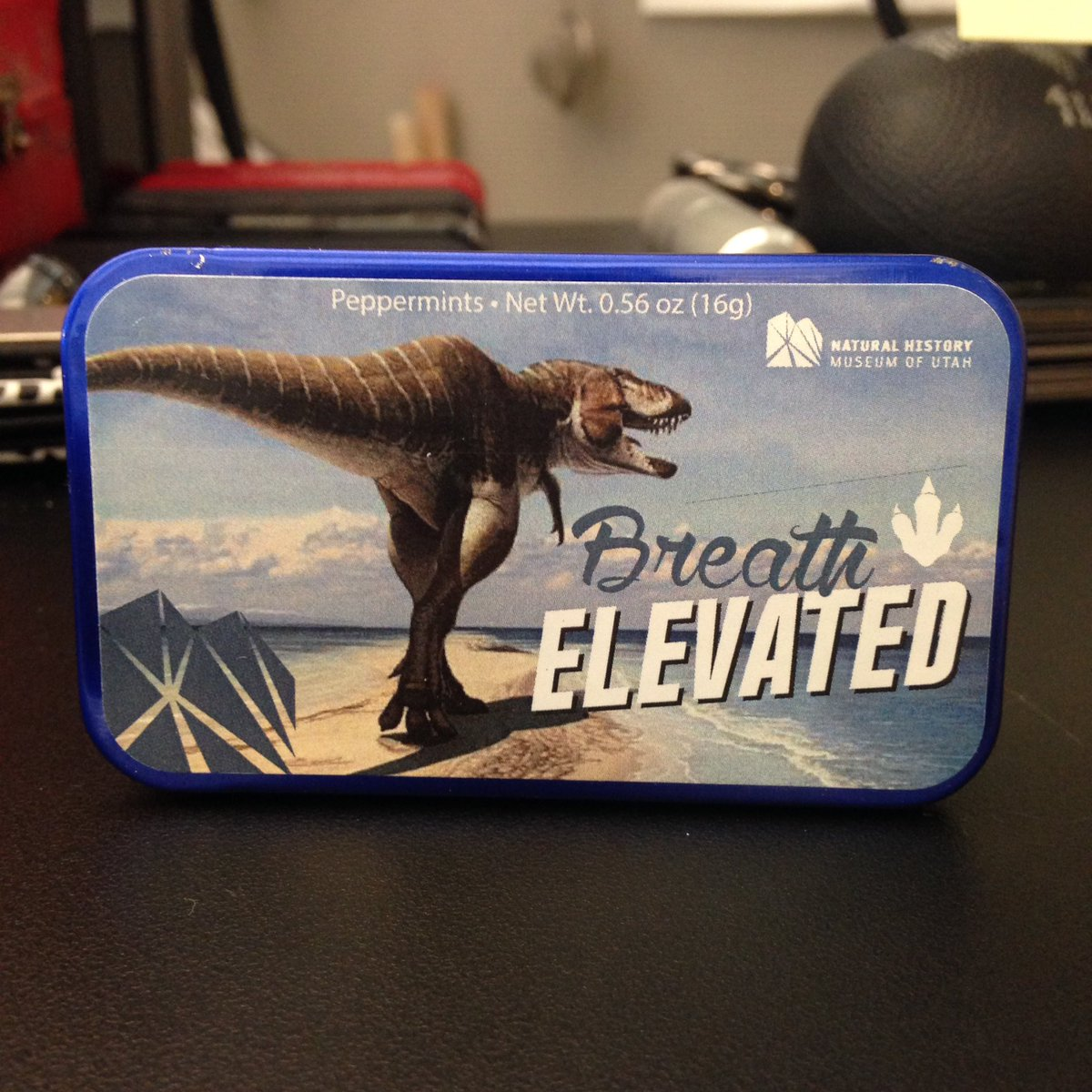 Buy this just for the Lythronax?  No, why would I do that? *nervouslaugh* @nhmu #science #paleontology #usofscience #lythronax  #scicomm<br>http://pic.twitter.com/P7JKxbzirj