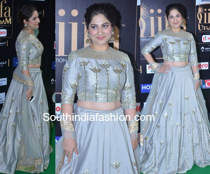 Gowri Munjal at the IIFA Utsavam Awards 2017 • South India Fashion