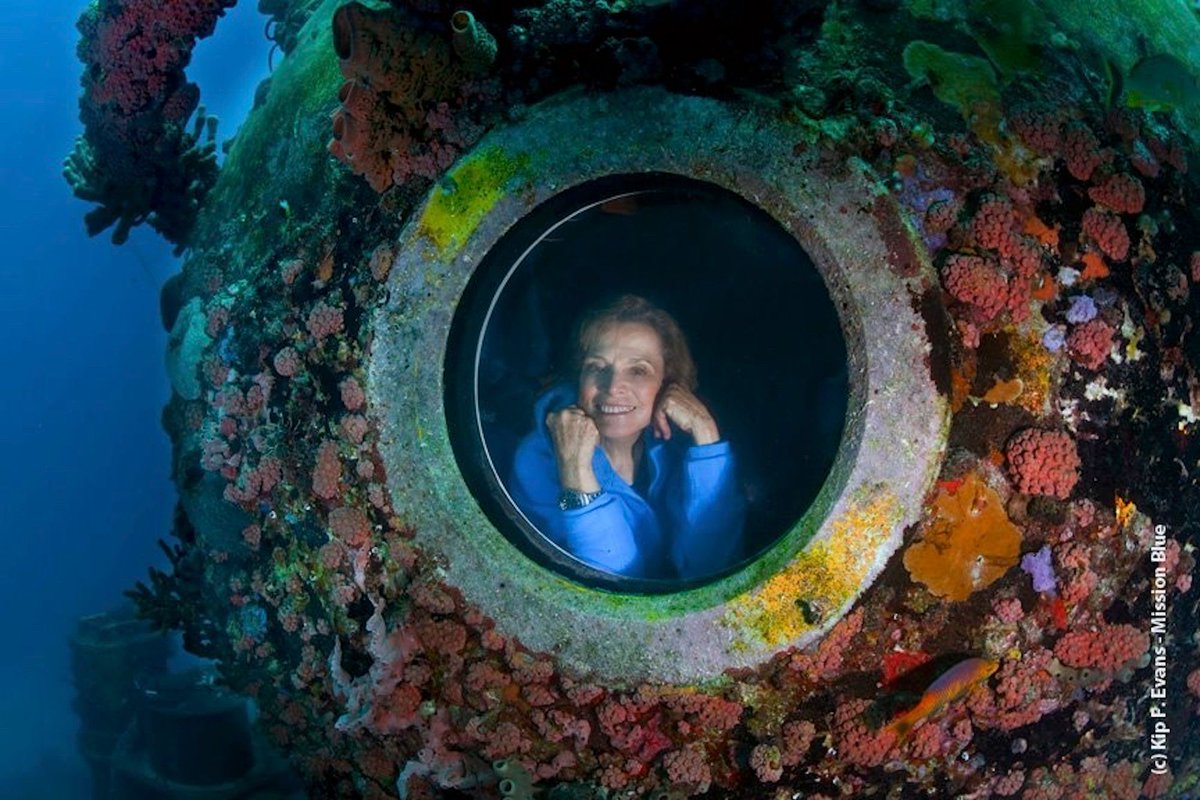 Never before has there been a time of greater opportunity, or need, for women in #STEM, business, government, and art. @SylviaEarle<br>http://pic.twitter.com/MVcIvS9f4P