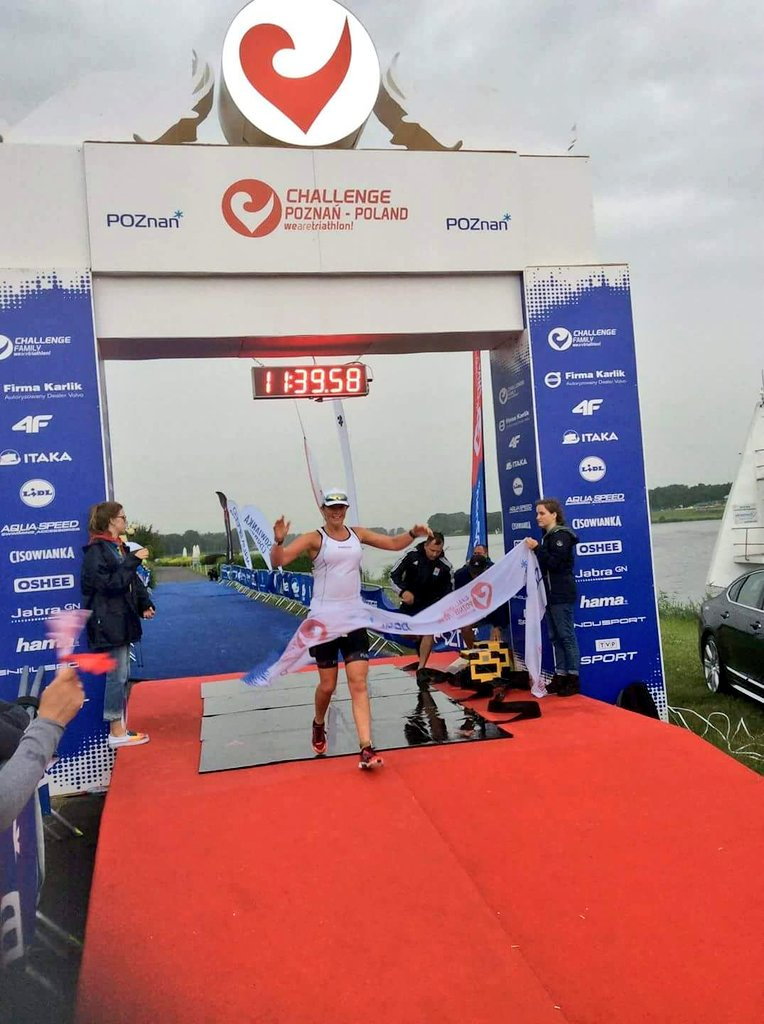 Shona finishes her third Ironman in 11:3...