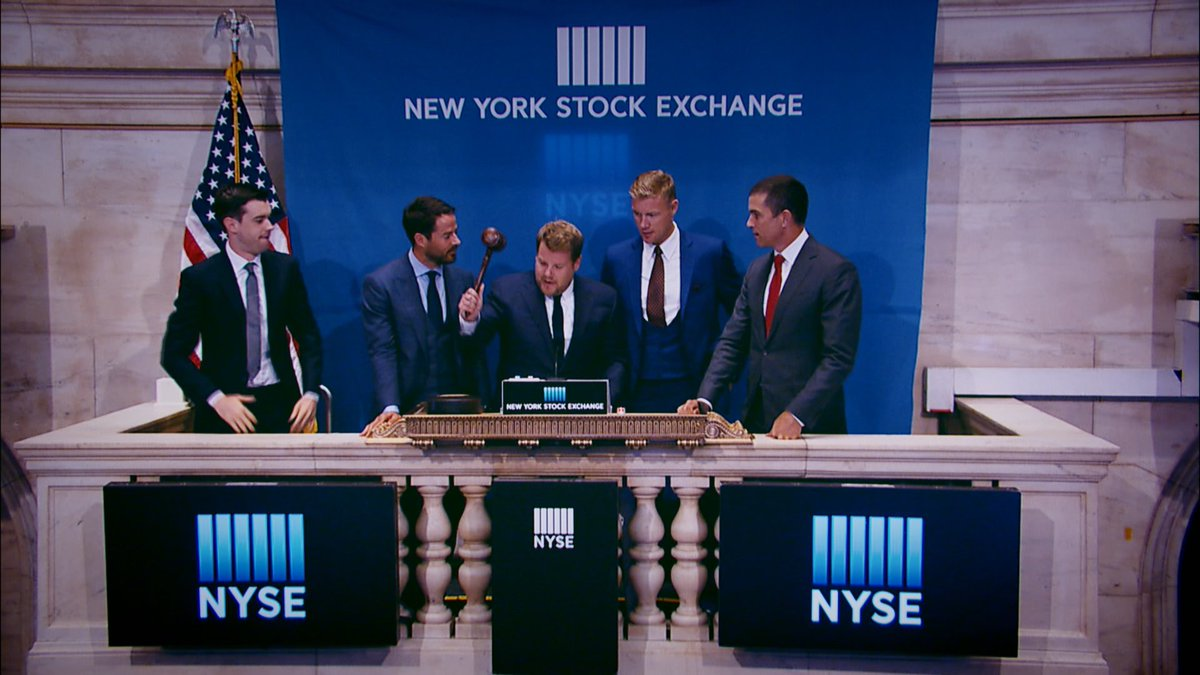 Tonight's finale - The boys will be opening the @NYSE! What could poss...