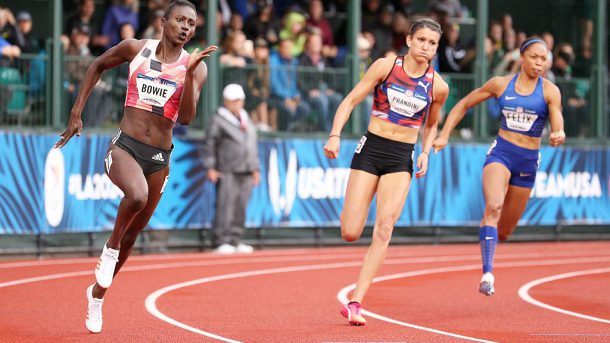 WATCH NOW: @NBC's coverage of #USATFoutdoors, including the 200m finals.  @usatf https://t.co/MaMJx3HjRf