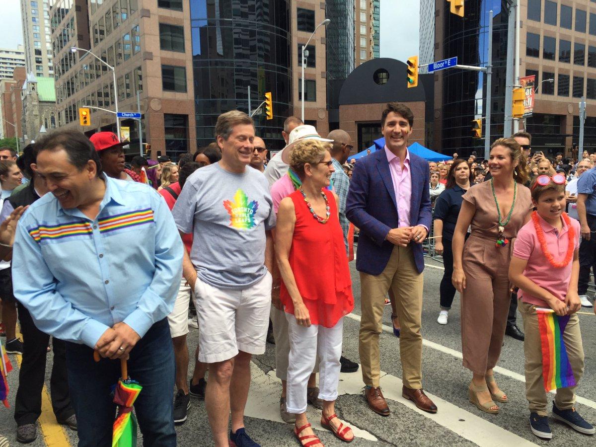 Proud Toronto. Proud Ontario. Proud Canada. #PrideTO  #Pride2017 https...