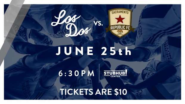 #LosDos #soccer!  @LAGalaxyII are back in action! Join us at Soccer For All Night: https://t.co/piCGd9Hv3g #LAvSAC https://t.co/GhVdU07EU3