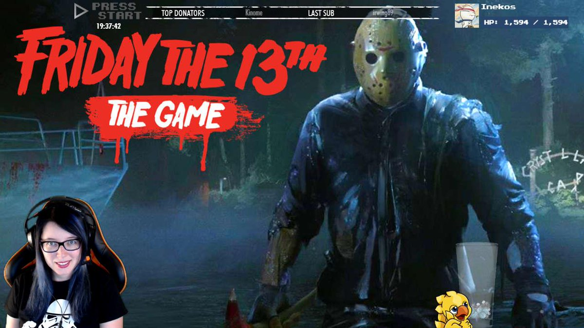 http:// twitch.tv/ardashe  &nbsp;    Friday The 13th Game #ardashe #directo #stream #twitch #videogames #indie #terror #gamer #friday13th<br>http://pic.twitter.com/5TOMwhFO7A