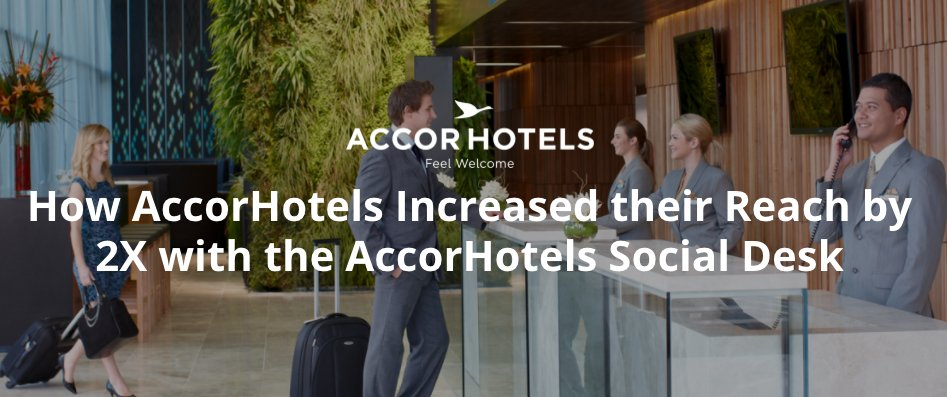 Accor Hotels increased social engagement by 3X with Hootsuite. What could you achieve? Book your demo now: https://t.co/2OSOjxLURG