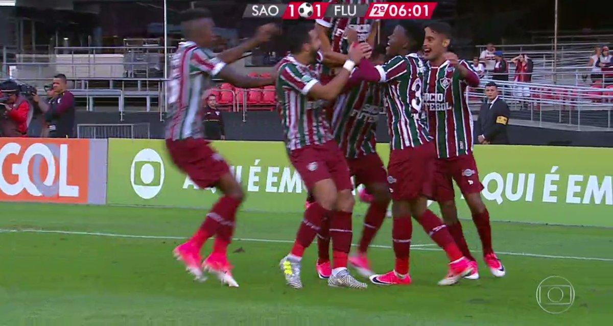 Fluminense empata com um chute de longe de Wendel https://t.co/VEkGGCv...