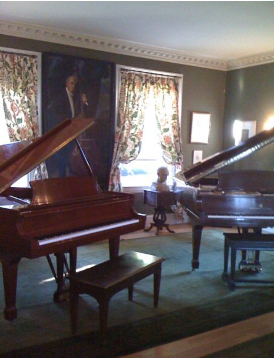 Sergei #Koussevitzky long time BSO concductor. Here is his home in #Tanglewood and #DoubleBass #concerto Gary #Karr   https://www. youtube.com/watch?v=fdLKA0 QttSE &nbsp; … <br>http://pic.twitter.com/bQLf3TZN7v