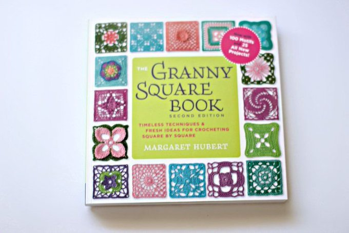 Craft Book Review: The Granny Square Book Not, Your Granny's Patterns!