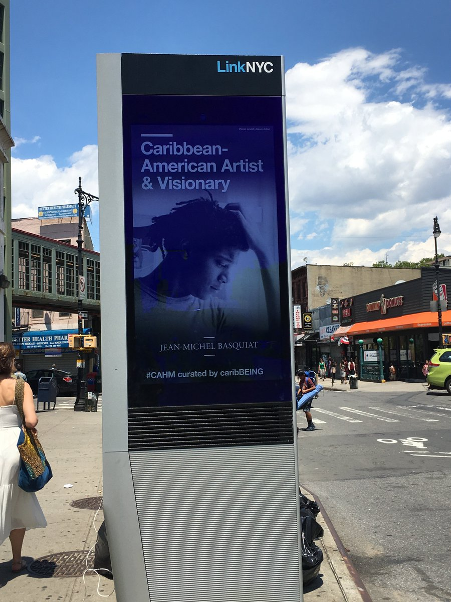 #BASQUIAT is #Caribbeing   #CAHM #NCAHM #JeanMichelBasquiat   Thanks to our friends at @brooklynmuseum @CCH1QU1TAA for sharing!    @LinkNYC<br>http://pic.twitter.com/qGa7trUQl7