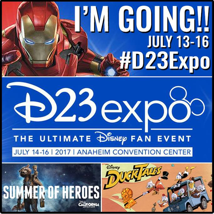 Super excited for the biggest event of the year! Be sure to follow along with these hashtags #D23Expo #Disneyland #SummerofHeroes #DuckTales <br>http://pic.twitter.com/HVz7AzzGwp