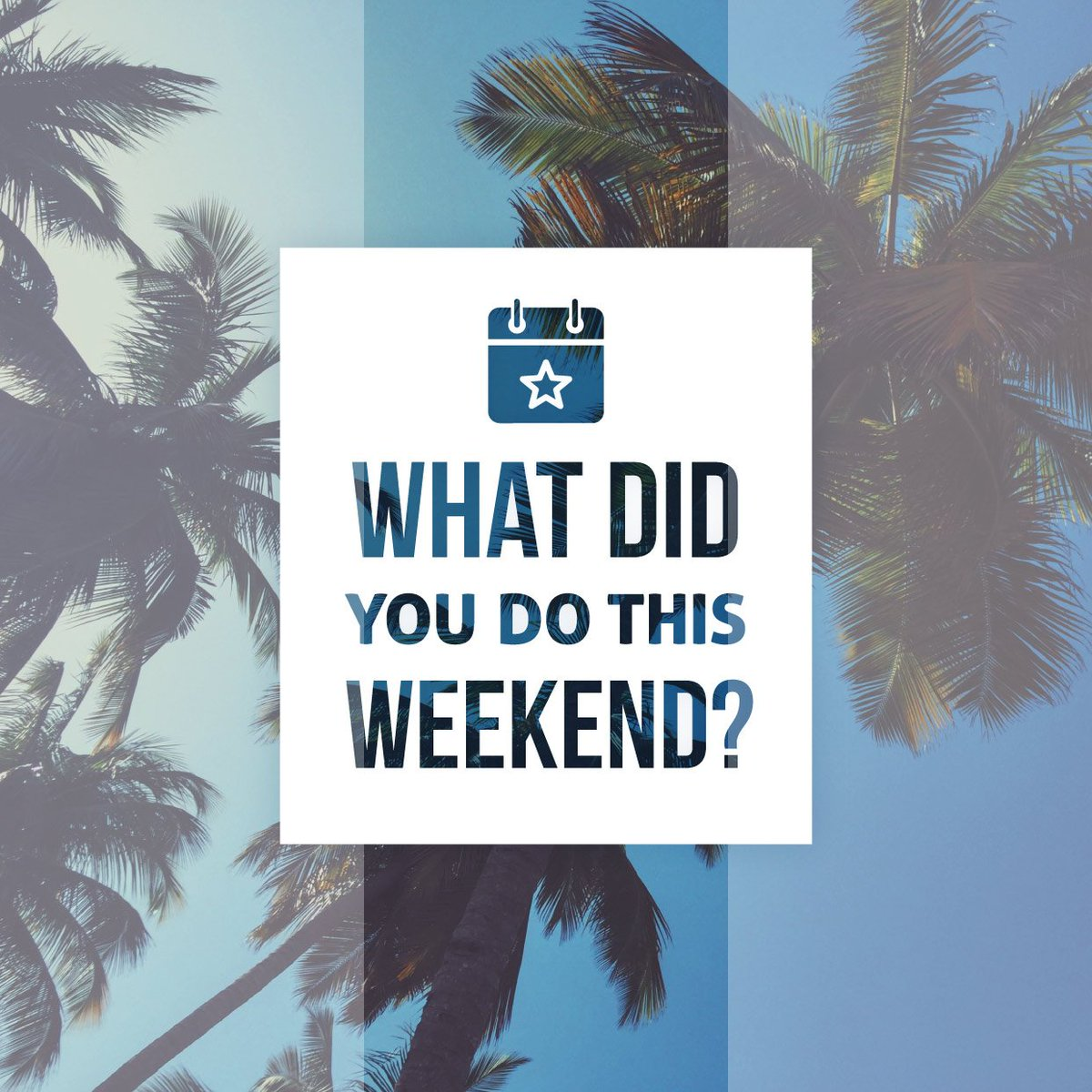 DO ANYTHING EXCITING over the weekend? We'd love to hear about it in the comments below! #weekend #summerfun #bon... <br>http://pic.twitter.com/k2wFlv0wCh