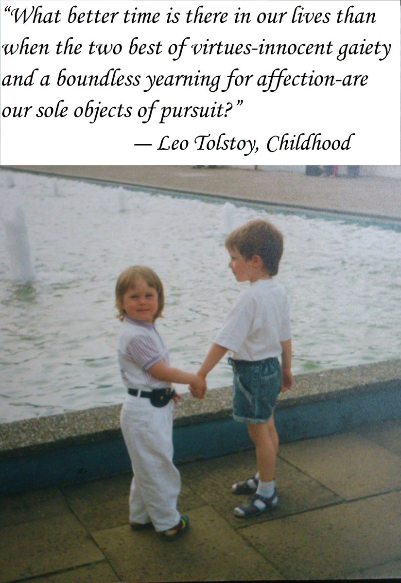 #quoteoftheday #childhood #love #SundayThought my #Children in the #nineties   I wish you all a wonderful peaceful week ! <br>http://pic.twitter.com/9tENNP6BjB
