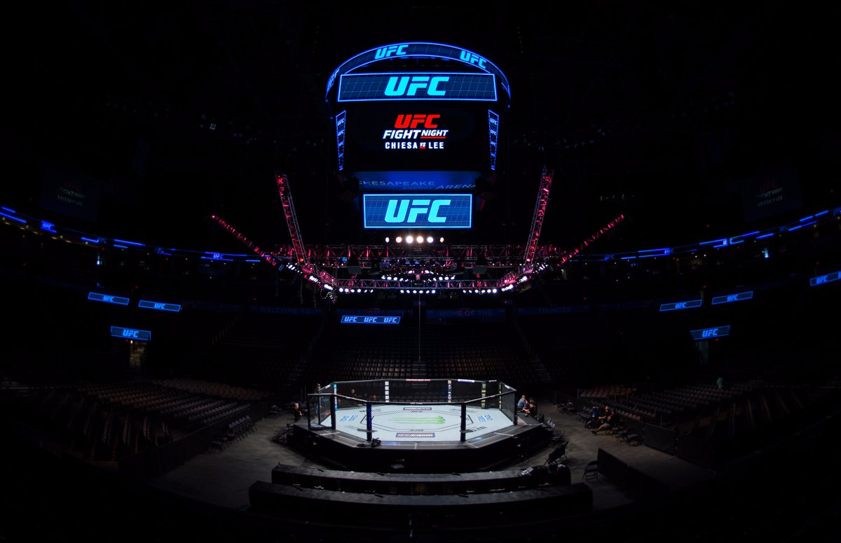 Look at that beauty 😍 😍 😍  #UFCOKC gets started at 5:30pmET on @UFCFig...