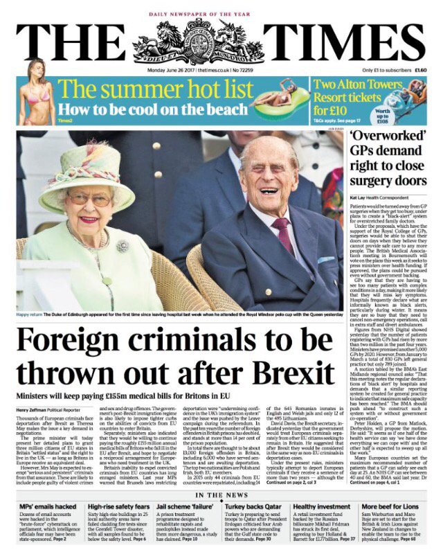 The photo editor of The Times just  kissed goodbye to any hope of a knighthood. https://t.co/rAsTPxEBSE