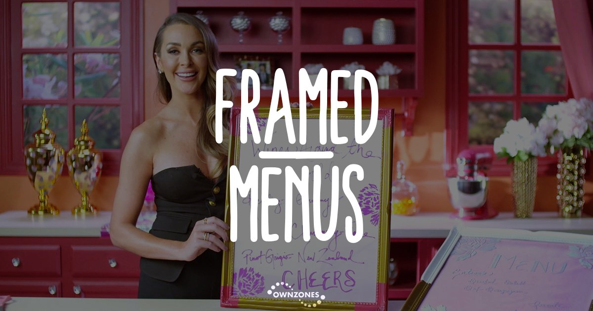 Make framed menus inspired by @coachella with @how2girl, Courtney Sixx!  Watch now on #Hollywood DIY:  http:// bit.ly/2s3T2Mq  &nbsp;   #Coachella <br>http://pic.twitter.com/5aajC6TSJ7