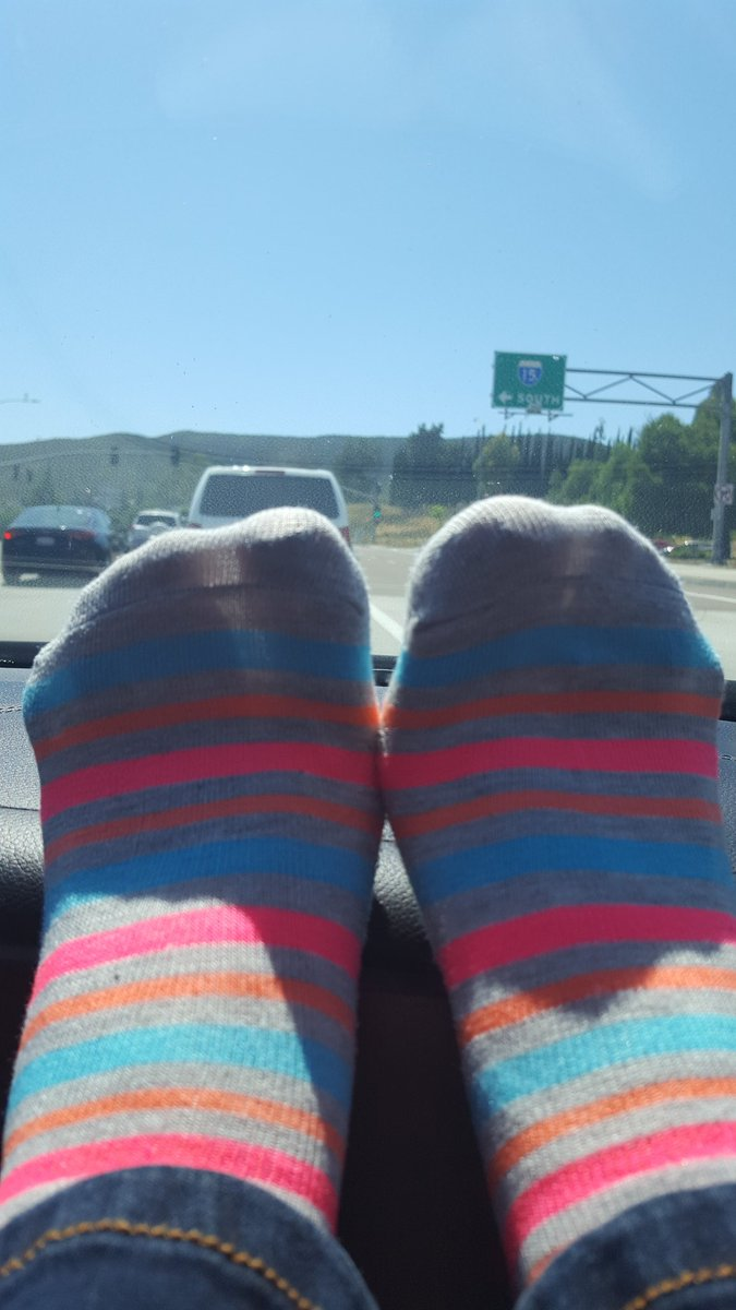 Here is one for you sock lovers out there. #sockfetish #socks #cutesocks #colorfulsocks #stripedsocks #71/2feet #sockworship #califeet <br>http://pic.twitter.com/CyLJrfW4oV