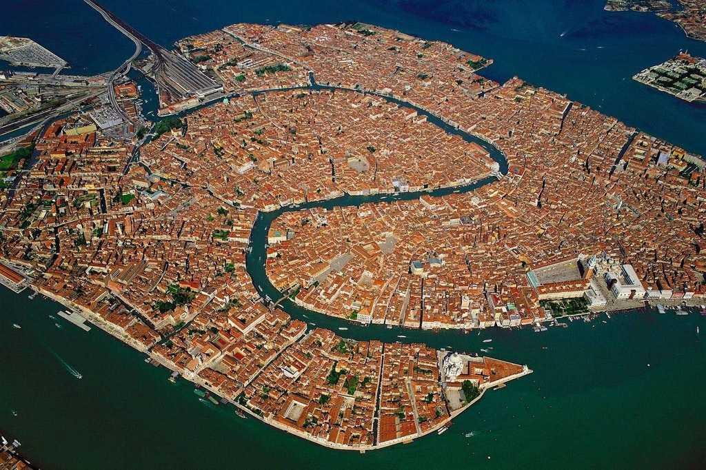 IMAGE: Venice from above  (Photographer: Yann Arthus-Bertrand)