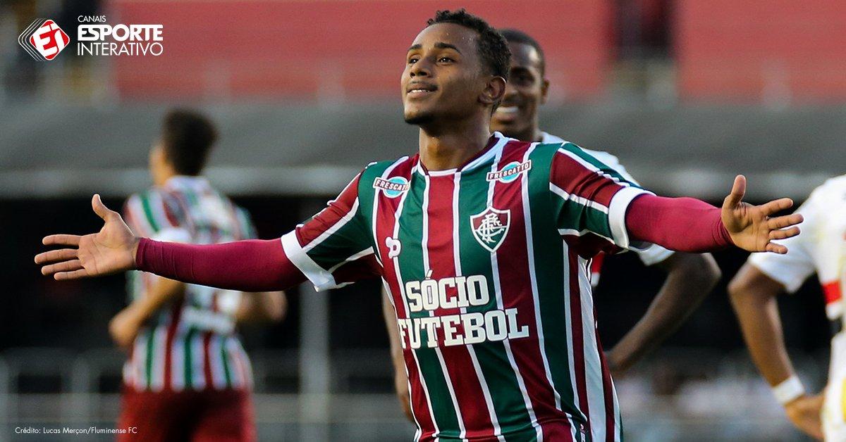 O menino Wendel, do @FluminenseFC, vive um grande momento: nas duas úl...