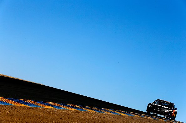 Martin Truex Jr. leads most laps, but exits Sonoma with late engine is...