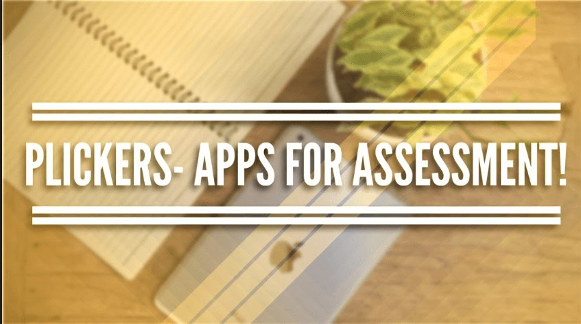 New blog post! Plickers- Apps for Assessment. https://t.co/zslNxZXUu8...