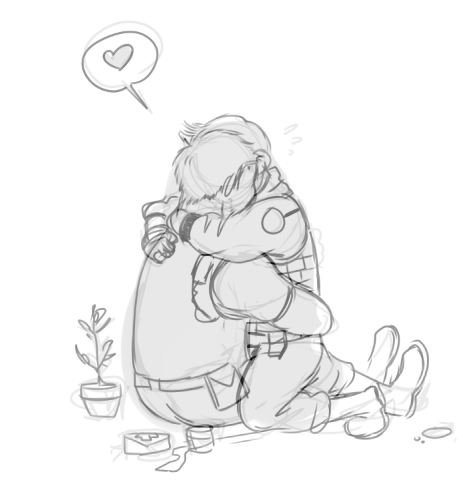 Lou Commissions Open On Twitter When You Feel Sad Draw Your Otp