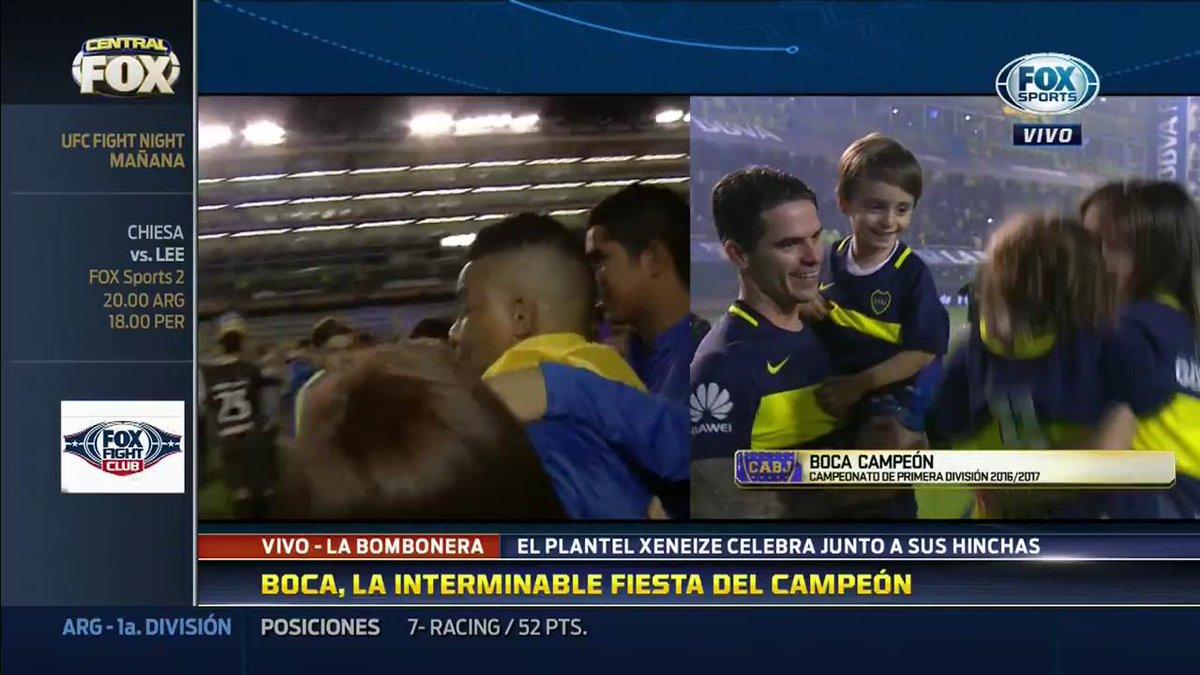 #CentralFOX | El baile entre Fabra y Barrios para celebrar el campeona...