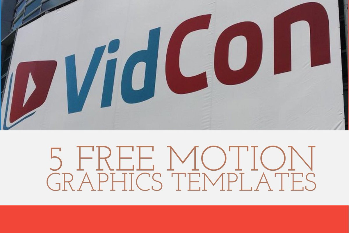 valentina vee on twitter go grab these 5 free motion graphics templates i created for adobepremieres vidcon x imagine dragons collab