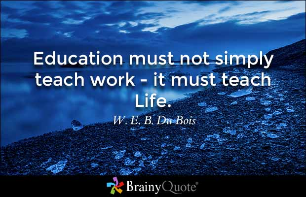 #Education must #teach #life, not just work. #IQRTG #ThinkBigSundayWithMarsha #InspireThemRetweetTuesday #lifecoach<br>http://pic.twitter.com/fpZ10ez11L