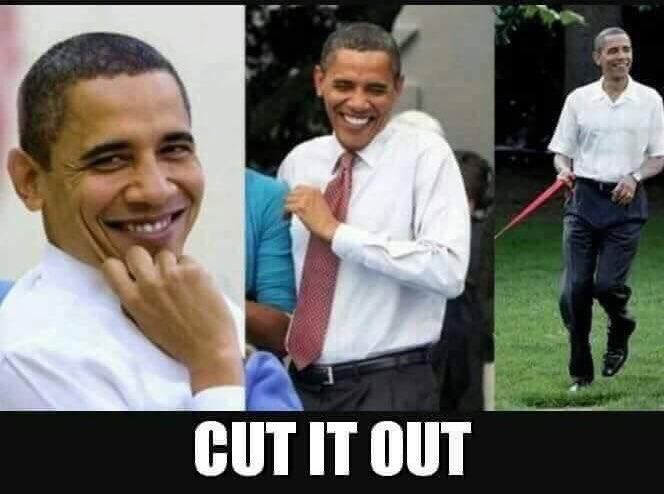 Yes. Barack knew bout #RussiaHacking when He was still the Preezy, but He told #Putin to &quot;cut it out&quot;. -mao @POTUS44 #pansy #maga<br>http://pic.twitter.com/OCpTAGh0aQ