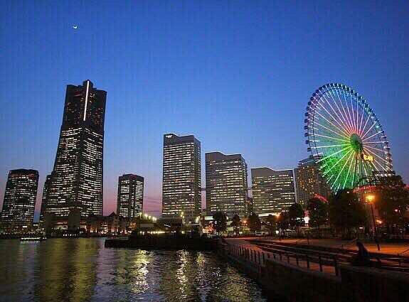 مدينة يوكوهاما باليابان  دمرها الزلزال عام 1923 ودمرتها الحرب العالمية...