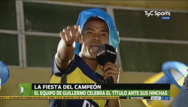 #Boca Wilmar Barrios, cronista especial del campeón: https://t.co/7CxT...