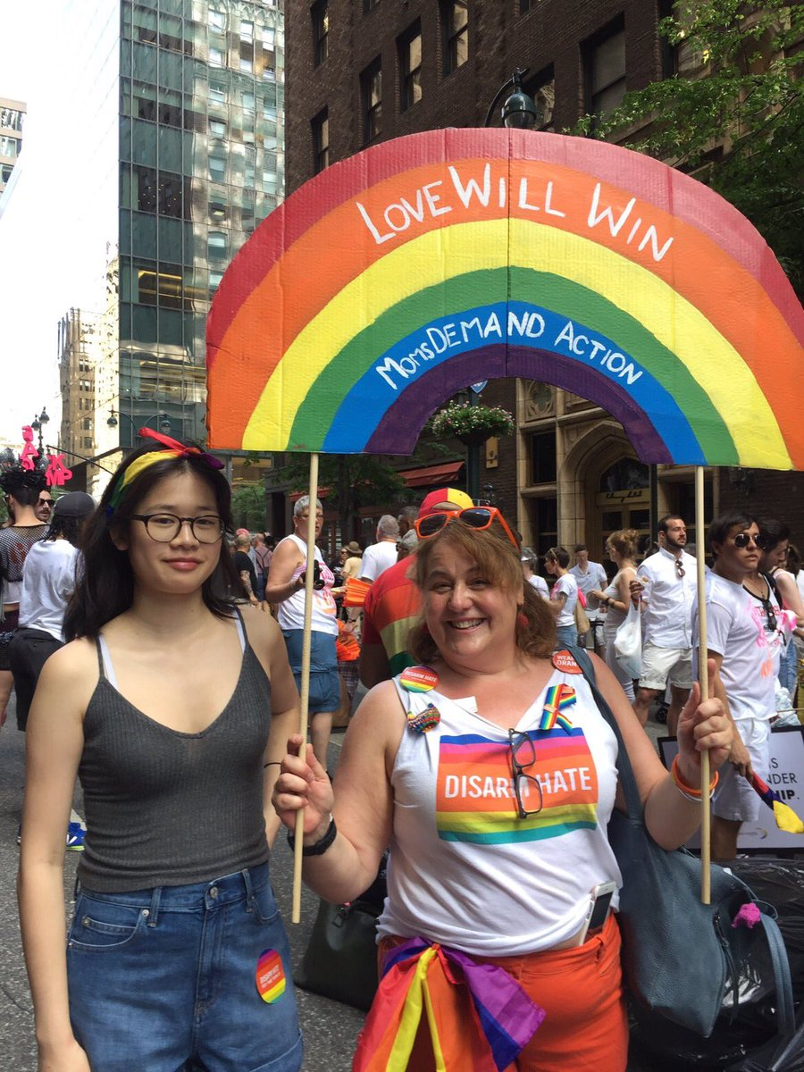 .@MomsDemand volunteers across the country are marching for pride this...