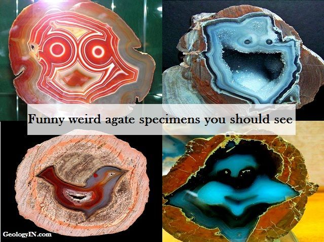 Have you ever gazed at a #crystal and saw it smiling back at you? #Agate has bands of microscopic quartz crystals.   http:// buff.ly/2sWEVfV  &nbsp;  <br>http://pic.twitter.com/Q511tQpQZ6
