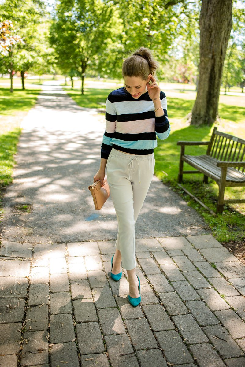 How to wear #Joggers and a #CropTop to the office   http:// bit.ly/WorkJoggers  &nbsp;  <br>http://pic.twitter.com/sMq4rxAbo9